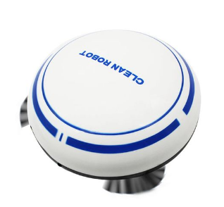 Light Smart Robot Vacuum Cleaner With Strong Suction And Remote Control discountshub
