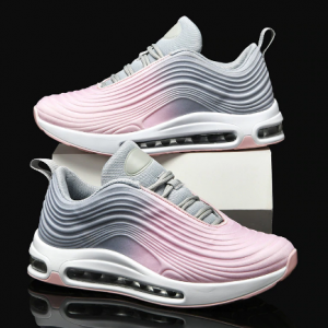 Breathable Running Shoes for Women Pink Air Cushion Athletic Shoes Sneakers Unisex Breathable Trainers Walking Jogging Shoes discountshub