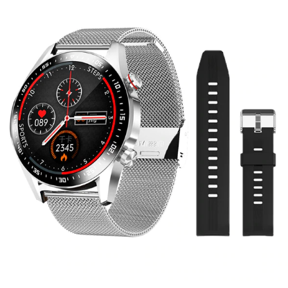 E1-2 Smart Watch Men Bluetooth Call Custom Dial Full Touch Screen Waterproof Smartwatch For Android IOS Sports Fitness Tracker discountshub
