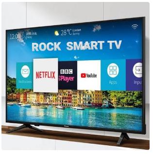 "Rock 55"" INCHES SMART FULL HD LED TV + FREE WALL BRACKET-R discountshub"