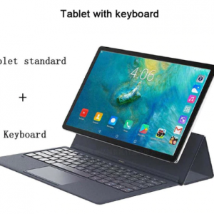 10 Cores Android 11.6 Inch 1920*1080 4GB RAM 128GB ROM Type-C 2 in 1 laptop Tablet 4G lte GPS with keyboard wireless mouse discountshub
