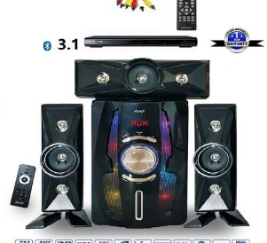 3.1 THEATRE SYSTEM WITH BLUETOOTH AND DVD PLAYER discountshub