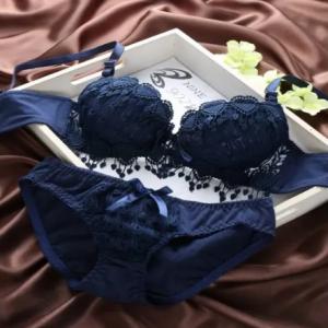 Ladies Lingerie Set - Blue discountshub