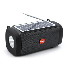 NS-S15S Super Bass Portable Solar Bluetooth Wireless Speaker With Touch, Fm Etc discountshub