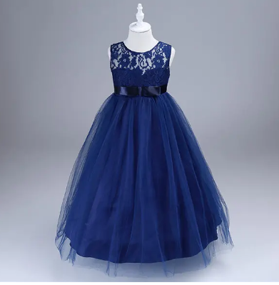 Girls Tulle Princess Party Dresses Toddler Formal Dress Ball Gown discountshub