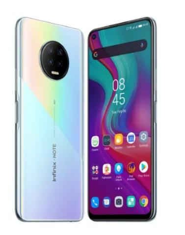 "Infinix Note 7 - X690B-Dual-128GB ROM-6GB RAM-4G LTE-6.95""-5000mAh- Fingerprint-Bolivia Blue discountshub"