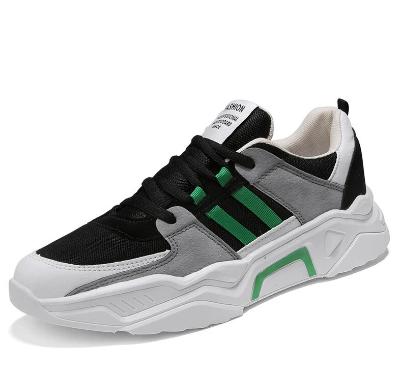 Men Mesh Splicing Light weight Sport Casual Sneakers discountshub