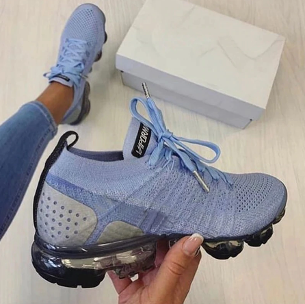 2021 New Spring Women Running Shoes Breathable Couples Sock Sport Sneakers Women Lace Up Walking Shoes Outdoor Footwear WSH3793 discountshub