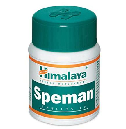Speman 60 Tablets Increase Sperm Count Herbal Ayurvedic Formula discountshub