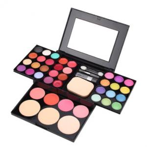 ADS 39-Colour Eyeshadow Makeup Palette Kit with Powder & Blusher discountshub