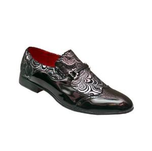Varrati Men's Italian Wedding Occasion Patent Leather Shoes Size 41-46 discountshub
