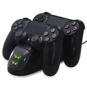 OrzBuy PS4 Dual Shock Controller Dual USB Charging Charger Docking Station For PS4/PS4 Slim/PS4 Pro Controller ZH MALL discountshub