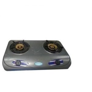 Thermocool Table Top Teflon Gas Cooker With 2 Hobs discountshub