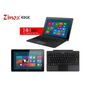 "Zinox Edge 2 IN 1 Tablet, 10.1"", Intel Cherry Trail, 4GB RAM 64GB ROM, Windows 10 discountshub"