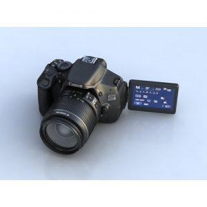 Canon EOS Camera 600D + 18-55mm Lens discountshub