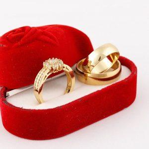 DX Rommanel Wedding Ring Sets discountshub