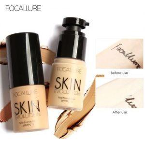Focallure Liquid Foundation Cream Full Coverage Oil Control Easy To Wear Soft Makeup discountshub