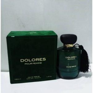 Fragrance World Dolores Pour Femme Eau De Parfum - 100ML discountshub