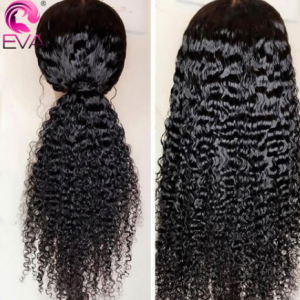 Glueless Curly Lace Front Human Hair Wigs Pre Plucked 13x4/13x6 Lace Front Wig For Black Women EVA HAIR Brazilian Jerry Curl Wig discountshub