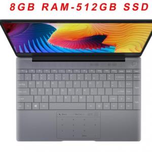 KUU K2 All Metal 14.1 Inch IPS Screen 8G RAM 512G 256GB SSD Fingerprint Notebbok Full Size Backlit Laptop Windows 10 Office Game discountshub