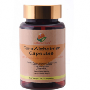 NaturalCure Cure Alzheimer Capsules, Secret Formula Since Ancient Times, Pills for Elderly Symptoms, no side effect 50 capsules discountshub