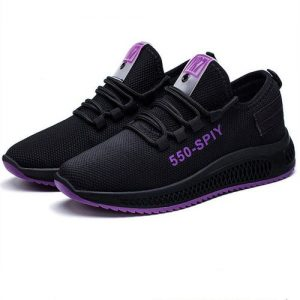 Casual Lady's Black Sports Net Shoes 4.1 out of 5 discountshub