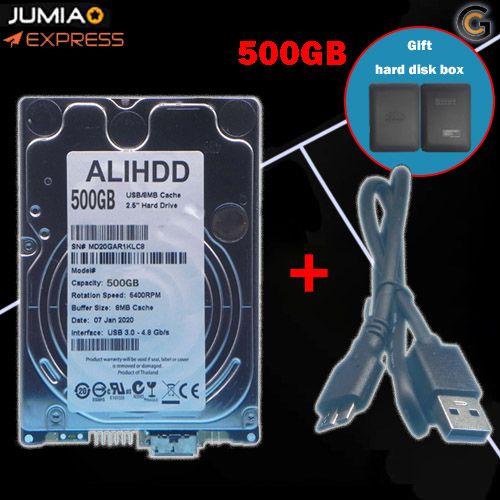 500GB 2.5-inch Laptop High-speed External Hard Disk 5400 RPM SATA INTERFACE USB Interface discountshub