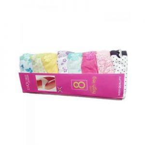 Esquire Ladies Panties Set - 8 in 1 discountshub