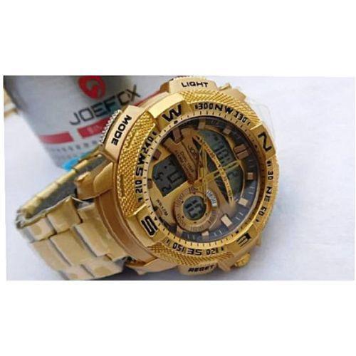 Gold Wrist Watch discountshub