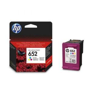 HP 652 Tri-color Original Ink Advantage Cartridge - F6V24AE discountshub