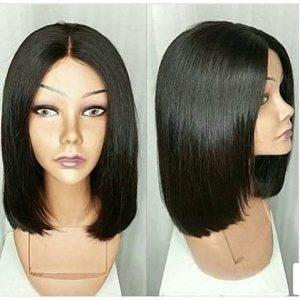 Long Bob Hair Wig - Black discountshub