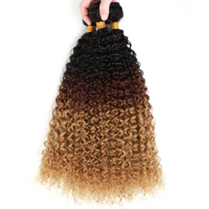 Yunrong Afro Kinky Curly Extensions Black Roots Braiding 30inches 3pcs Soft Long Wave Bundles Synthetic Hair For Women discountshub
