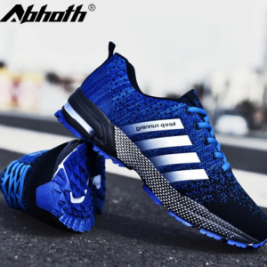 Abhoth Men's Mesh Breathable Casual Shoes Non-Slip Stable Shock Absorption Lightweight Sneakers Couple Basket Homme 2020 discountshub