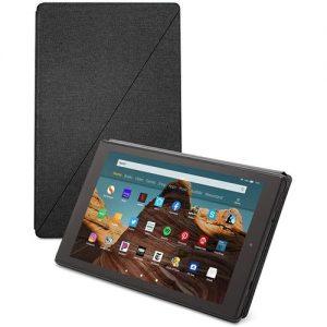 "Amazon Fire HD 10 Tablet (10.1"" 1080p Full HD Display, 32 GB) Amazon Tablet Case Included – Black discountshub"