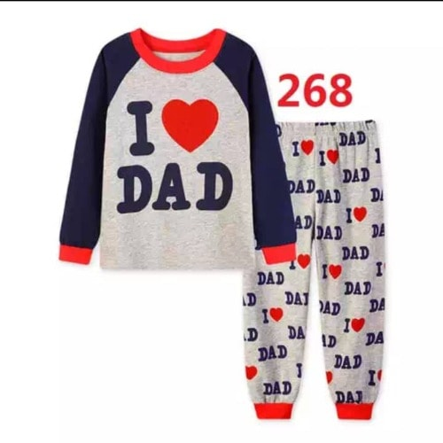 FashionKids 2Pc Pyjamas Set - Red - Unisex discountshub
