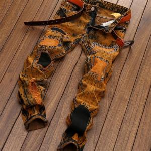 High Quality 2021 New Desing Men Jeans Straight Casual Denim Vintage Jeans Plus size 28-42 discountshub
