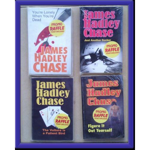 James Hadley Chase Novel Bundle of 4 Books- Sweet Deal! discountshub