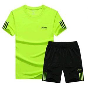 Sport Wear Set - Lemon Green discountshub