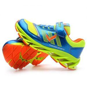 VITIKE Fashion Teen Sneakers Men Sports Shoes Kids Shoes - Blue discountshub