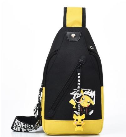 Waterproof Sports Chest Bag Men Bag Cartoon Anti Theft Outdoor Men Crossbody Bags 2020 Casual Male Travel Pouch knapsack discountshub