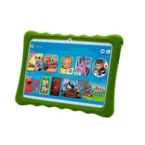 """Wintouch K11 Kids Tablet- Dual Sim- 10.1"""" -1Gb Ram-16Gb Rom Plus Free Pouch Inside And Gifts -Green discountshub"""