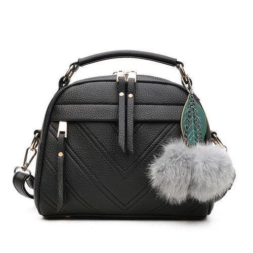 Women's Bag Single Shoulder Messenger Bag Women's Bag-Black discountshub