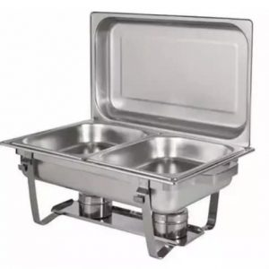 Double Chaffing Dish - 9.5 Litres discountshub
