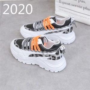 Female Double Lace Sneakers discountshub