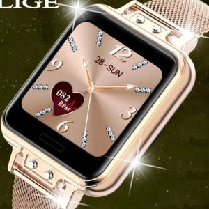 LIGE 2020 New Smart Watch Women Heart Rate Women Menstrual Cycle Multifunction Ladies Smartwatch Fitness Tracker For Android IOS discountshub