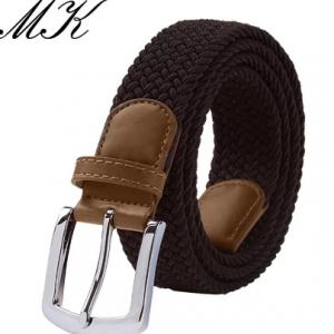 MaiKun Men's Belts for Men belt Metal Pin Buckle Elastic Men Belt Military Tactical Belt discountshub