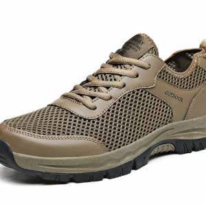 Men Mesh Braethable Slip Resistant Soft Outdoor Hiking Shoes discountshub
