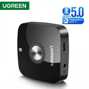 Ugreen Wireless Bluetooth 5.0 Receiver 3.5mm Jack APTX LL AUX 3.5 Music Receiver HiFi Audio Adapter For Car Bluetooth Receptor discountshub