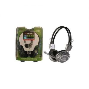 WEILE Super Bass Computer Headset With Mic PC Headphone discountshub