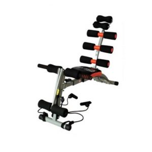 Wonder Core Six Packs Abs Chair With Resistance Band discountshub